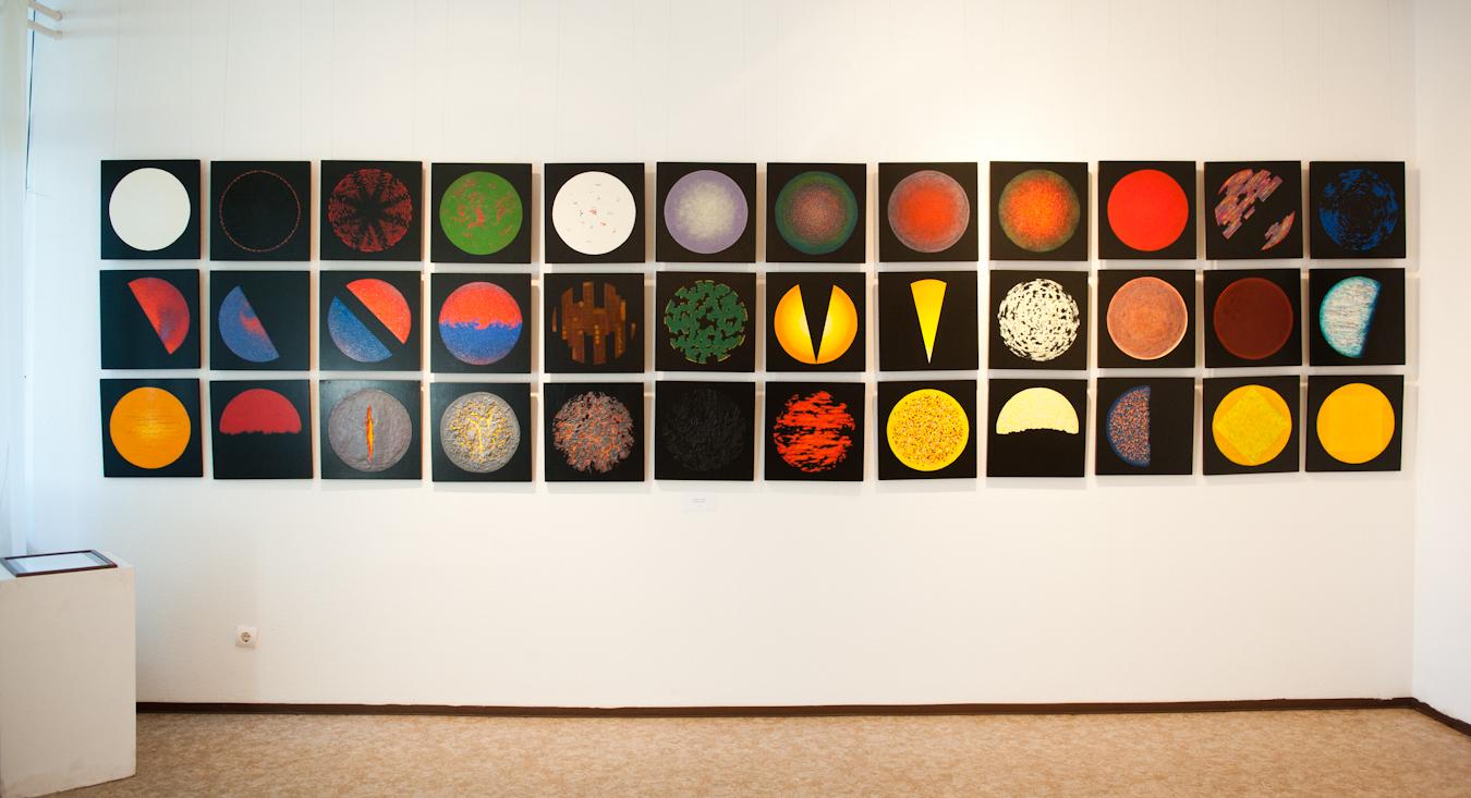 Erdélyi Sándor kiállítása a Csepel Galériában