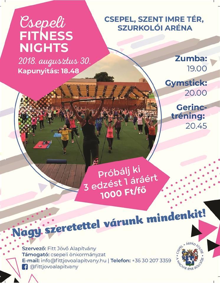 Csepeli Fitness Nights!