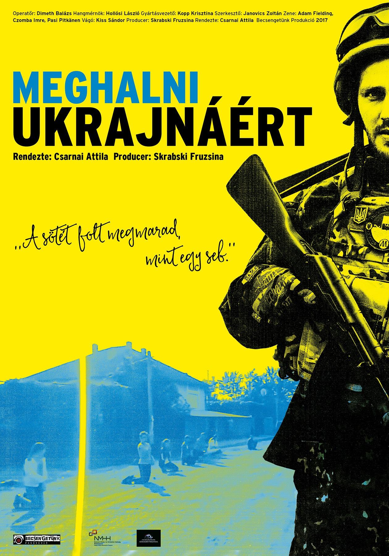 Georgia államban fesztiválozik a Meghalni Ukrajnáért című film