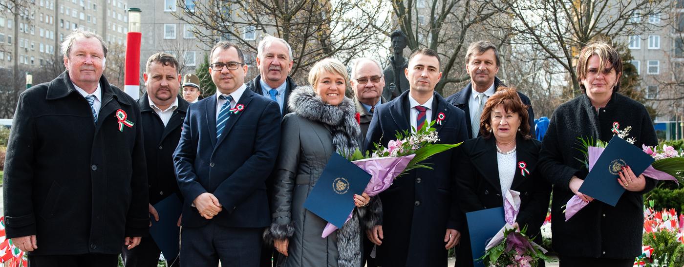 A nemzeti ünnepen átadták a Csepel Szolgálatáért díjakat