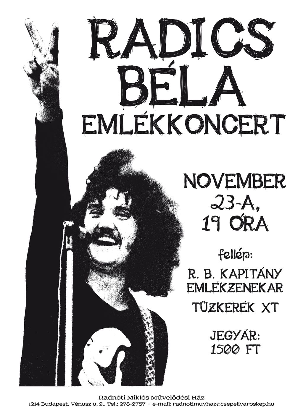 Radics Béla emlékkoncert