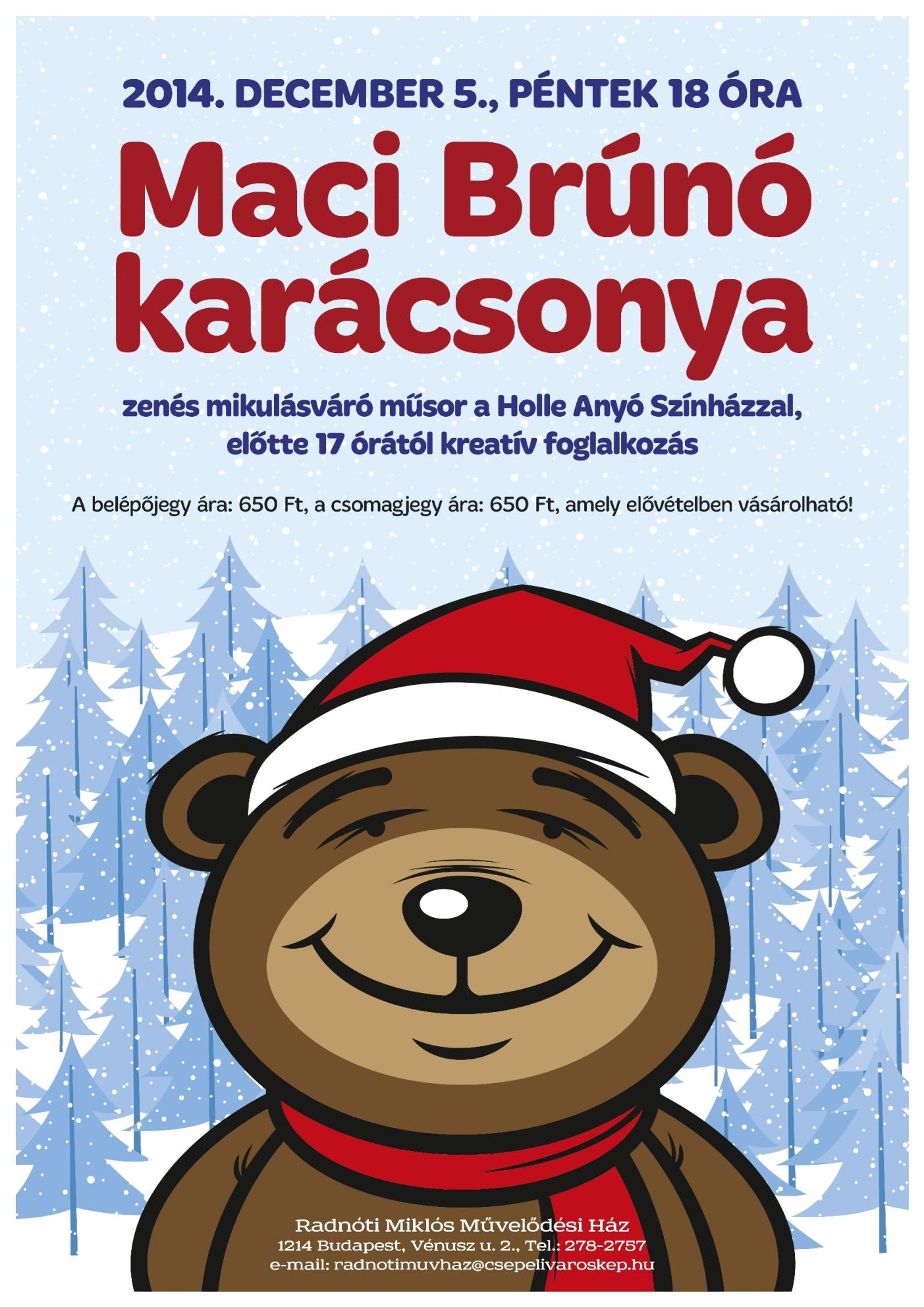 Maci Brúnó karácsonya