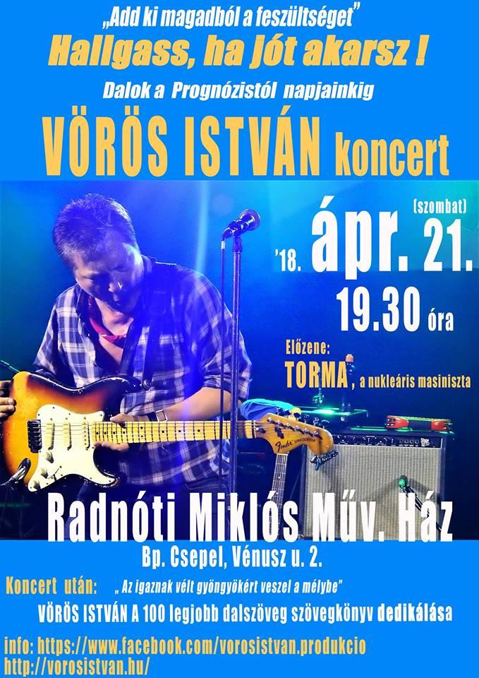 Vörös István koncert